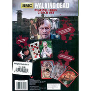 Walking Dead Playing Cards 2 Deck Set Tin Back