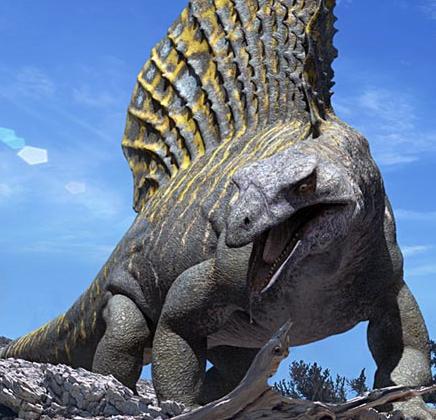 edaphosaurus walking with dinosaurs wiki fandom
