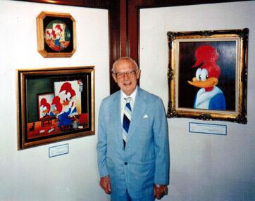 Walter Lantz 1990 photo D Ramey Logan-1-