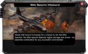 Spectre-Elite-Weekend-Message
