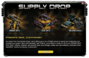 Black Friday Supply Drop