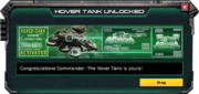 HoverTank-UnlockMessage