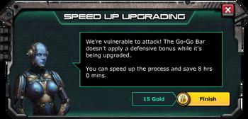 GoGoBar-SpeedUpWithGold
