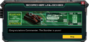 Scorcher-UnlockMessage