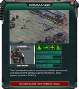 Commando - Gear Store Description