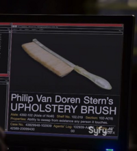 Philip Van Doren Stern's Upholstery Brush