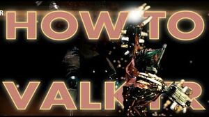 HOW TO VALKYR Release the Beast - Warframe frames Update 16