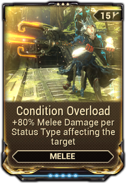 Warframe Frost Prime Condition Overload   W...