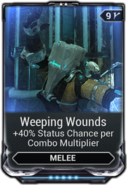 Weeping Wounds