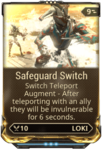 Safeguard Switch