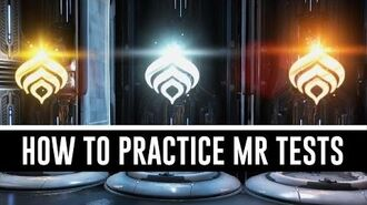 How To Practice Mastery Rank Tests (Warframe)
