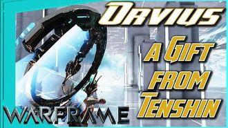 ORVIUS - Exploding Flying Disc of Destiny Warframe