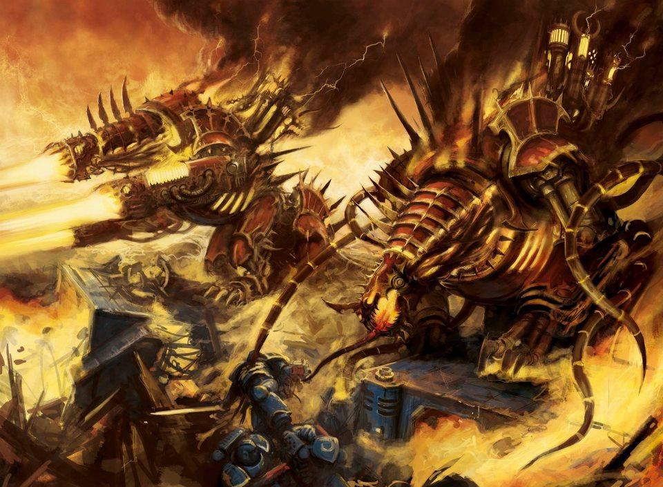 warhammer 40k chaos codex