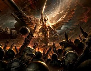 Solar Macharius-Angel of Fire