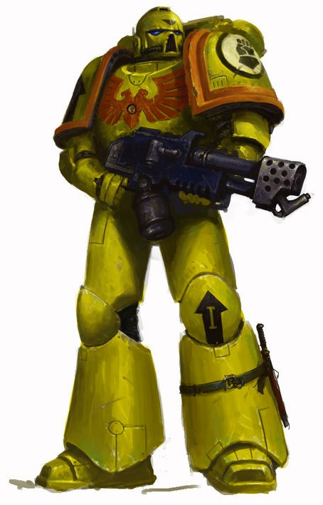 Image imperial fists tactical flamer by masteralighieri warhammer 40k fandom - Imperial fists 40k ...