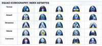 Squad Iconography Index Astartes