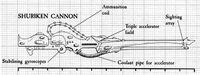 Shuriken Cannon schematic