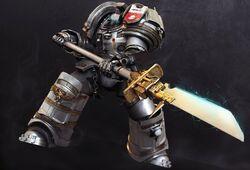 GK Terminator halberd
