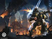 Chaos Warlord vs Imp Warlord