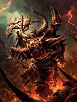 Khorne Daemonkin Codex Artwork
