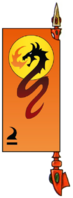 Red Wyrm Banner