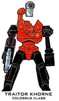 Traitor Khorne Colossus Class