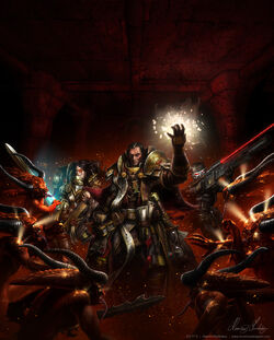 Warhammer 40K Dark Heresy by henning