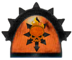 The Pyre Shoulder Pad