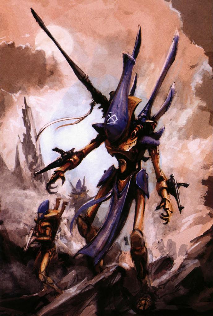 image eldar wraithlordpng warhammer 40k fandom