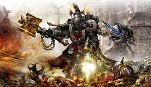 Chaplain Grimaldus & Emperor's Champion