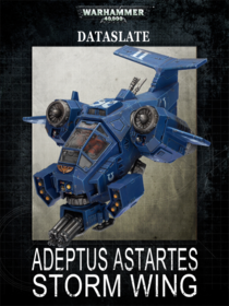 Adeptus Astrates Storm Wing Cover