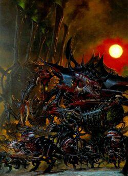 Hive Tyrant - Hive Fleet Behemoth