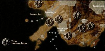 Lyubov Ground Assault Map