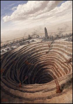 A Promethium mine