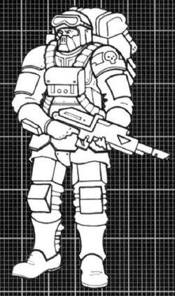 Harakoni Warhawk Drop Trooper