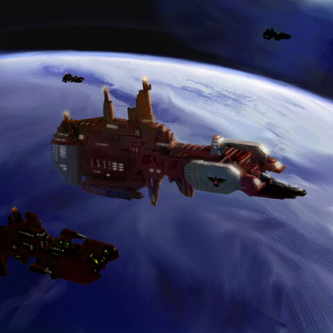 File:Warhammer Strike Cruiser by mikkow.jpg