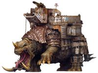 Deathskulls Squiggoth 'Bonemuncha'