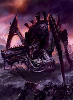 Tyrannofex battle