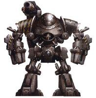 Castellax Battle Automata Lambda Three Six IW