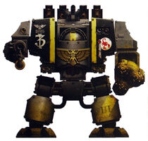 Siege Dreadnought - Brother Daeres