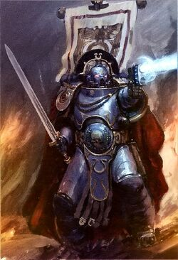 Captain Cato Sicarus of the Ultramarines 2nd company