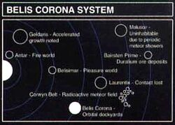 Belis Corona System Map