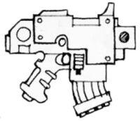 Ceres-Pattern Bolt Pistol