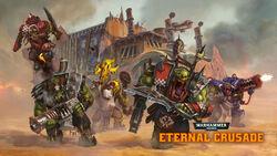 Eternal crusade orks by diegogisbertllorens