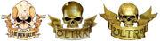 Skull & Mottos variants