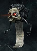 Scribe Servo-Skull