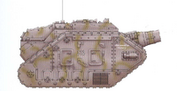Thunderer Siege Tank Palladius 2nd Armoured Regiment