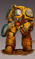 Imperial Fists' Termintaor