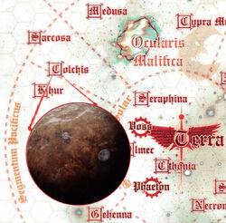 Colchis Galaxy Map