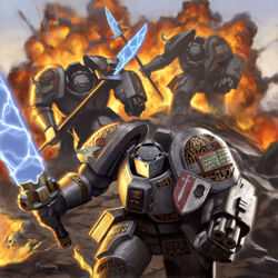 Grey Knights Battle